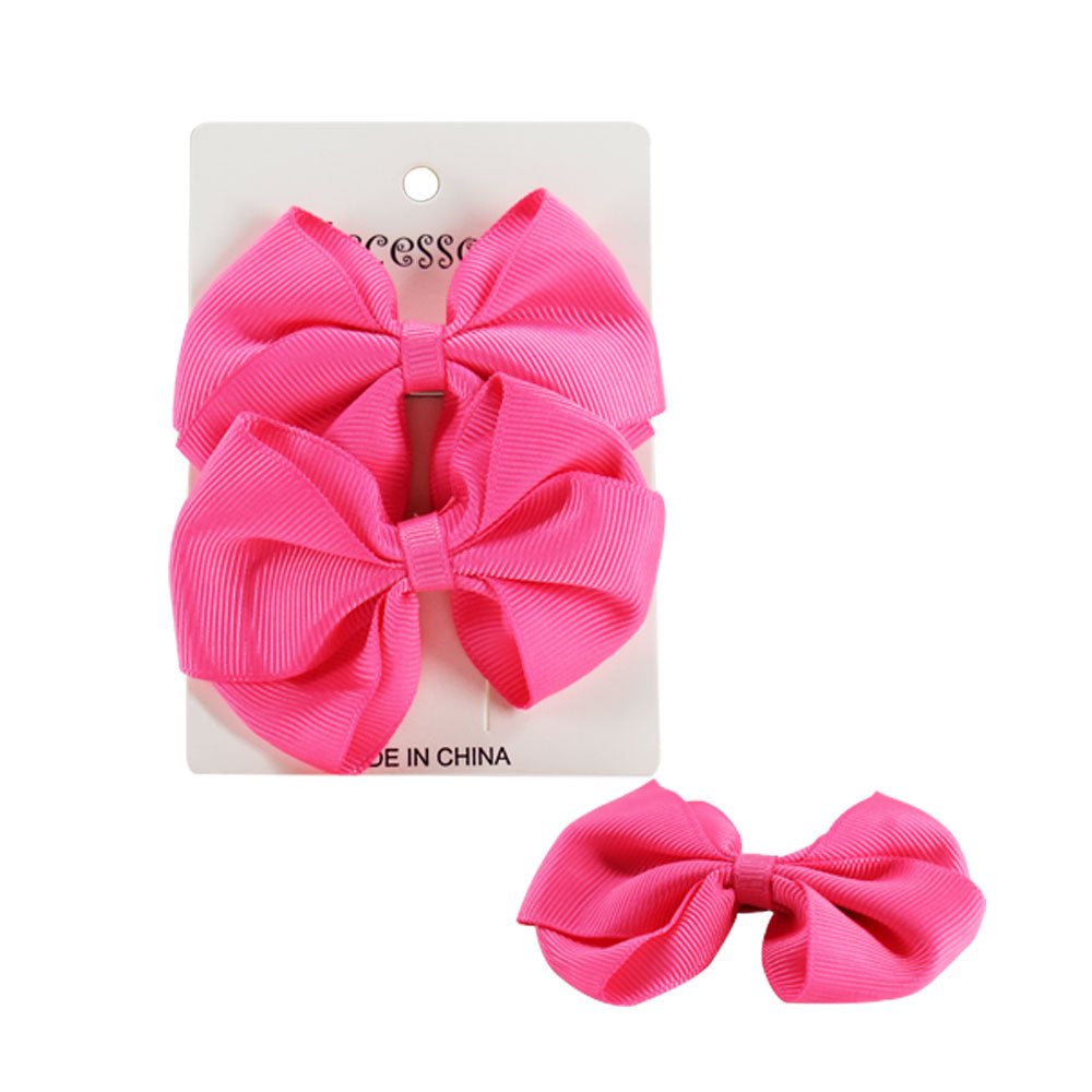 Bowknot Hair clip, Pack of 2
