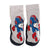 Bross Socks Non-Slip Shoes Superhero, 1 Pair
