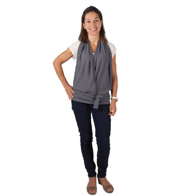 Candide Nursing Top - Grey