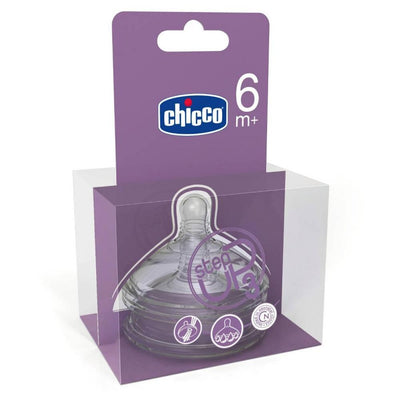 Chicco Bottle Teat Step Up 3 Fast flow - 6 Month+