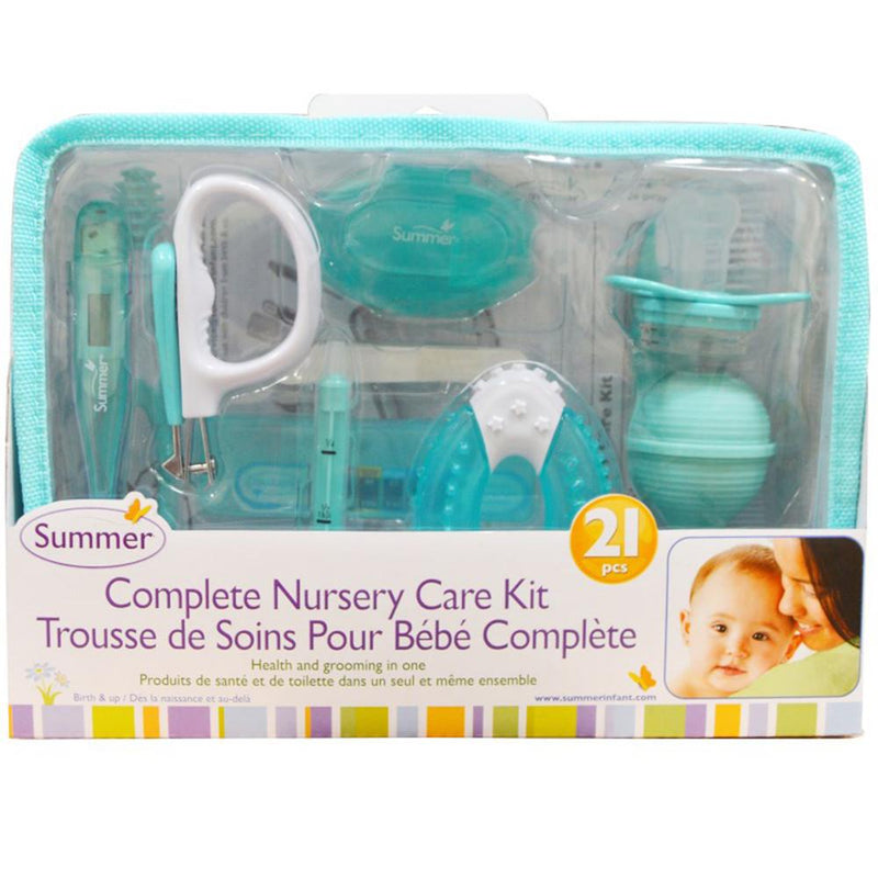 Summer Infant Complete Nursery Care Kit 21 Piece - Green