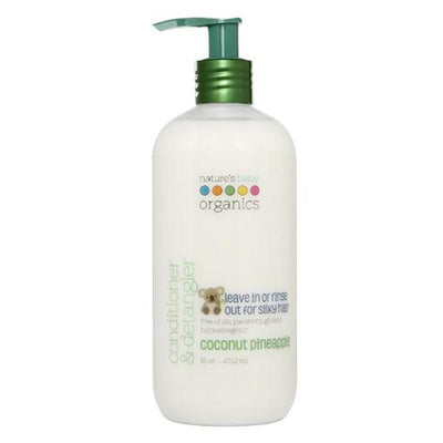 Nature's Baby Organics Conditioner & Detangler Coconut Pineapple 16oz
