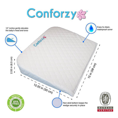 Conforzy Universal Bassinet Wedge pillow (Rectangular)