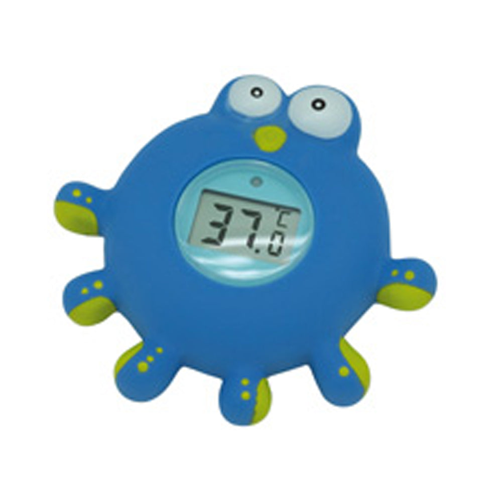Olmitos Digital Bath Thermometer Octopus, Blue