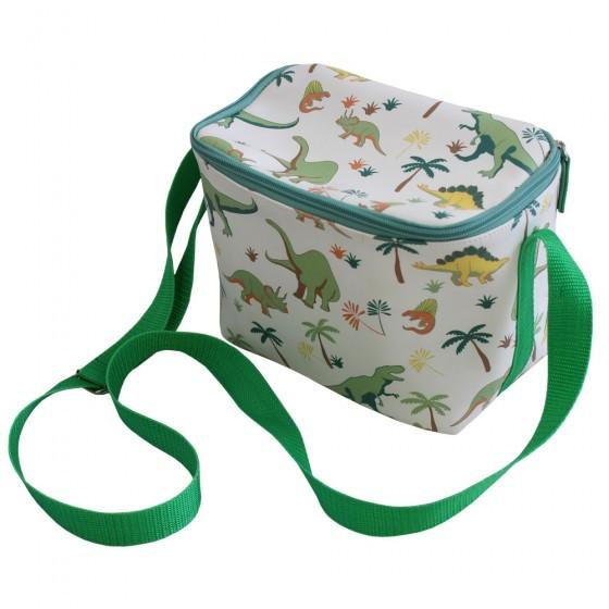 POWELL CRAFT DINOSAUR PRINT LUNCH BAG