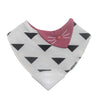 Yummy Mitt Bandana Teething Bib with Silicone Teether