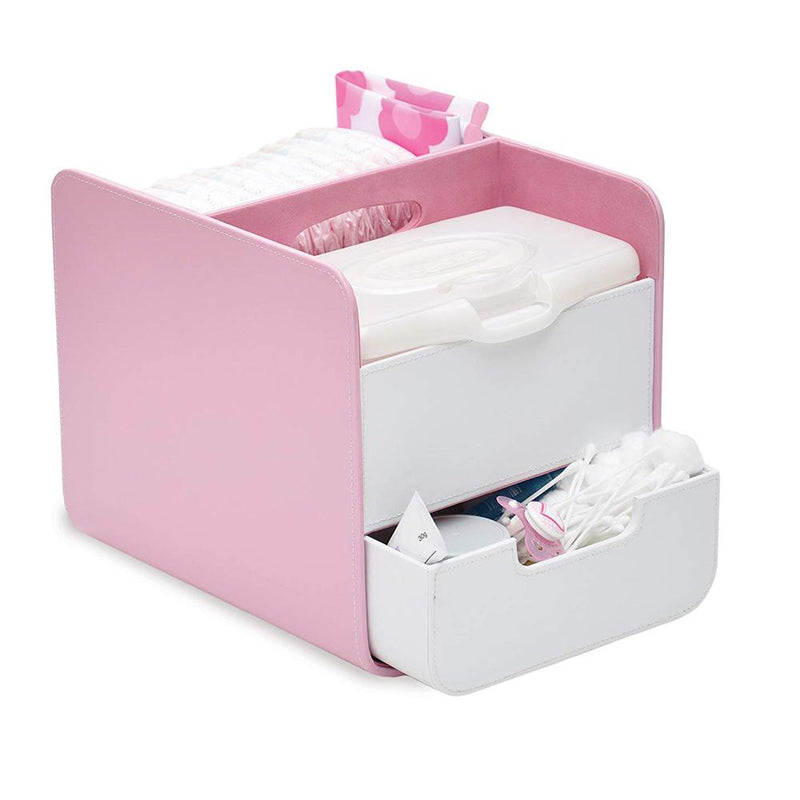 B.Box Diaper Caddy with Changing Mat - Pretty in Pink