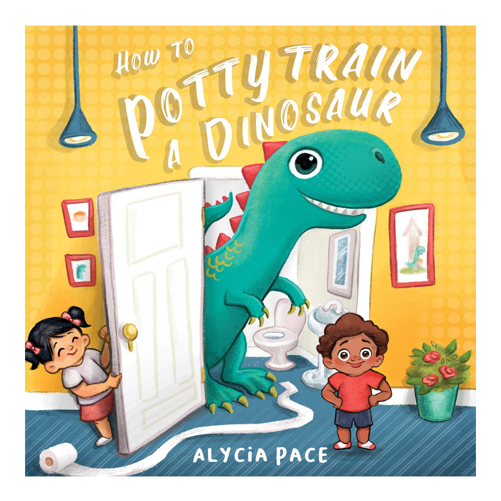 How to Potty Train a Dinosaur Board Book