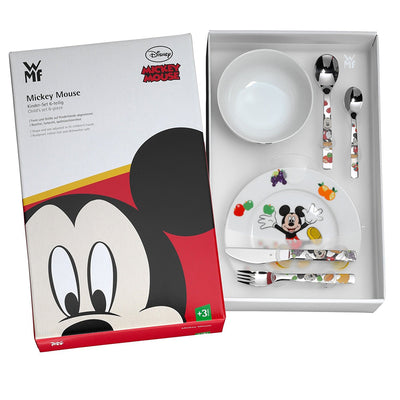 WMF Disney Mickey Mouse Cutlery Set 6pcs