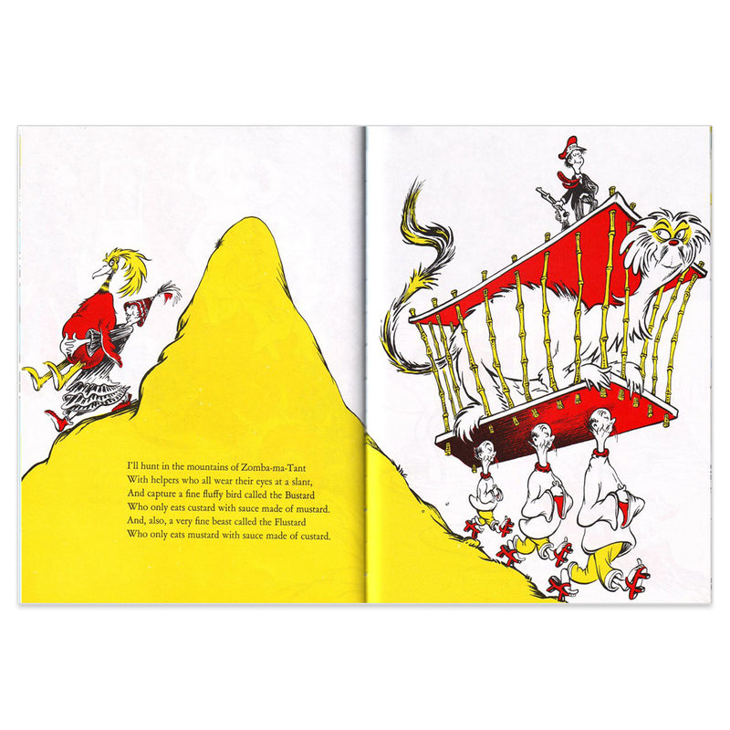 Dr. Seuss If I Ran the Zoo : Yellow Back Book