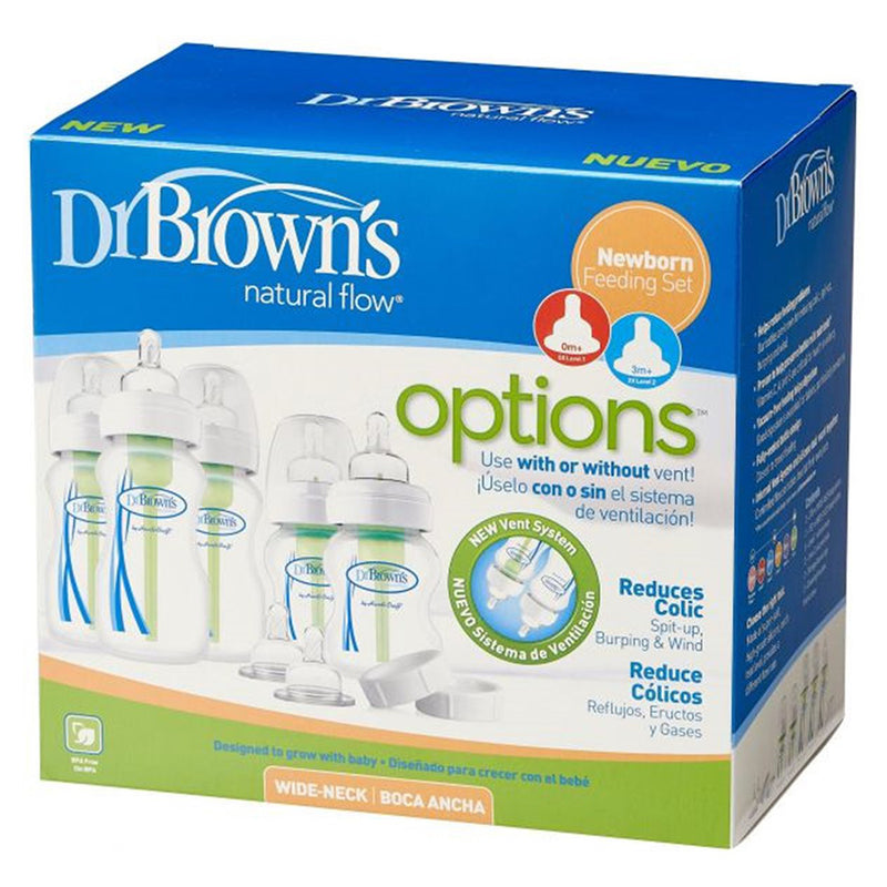 "Dr Brown's Newborn Feeding ""Options"", Gift Set"