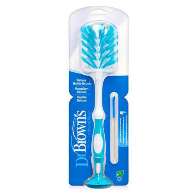 Dr Brown's Deluxe Bottle Brush - Blue