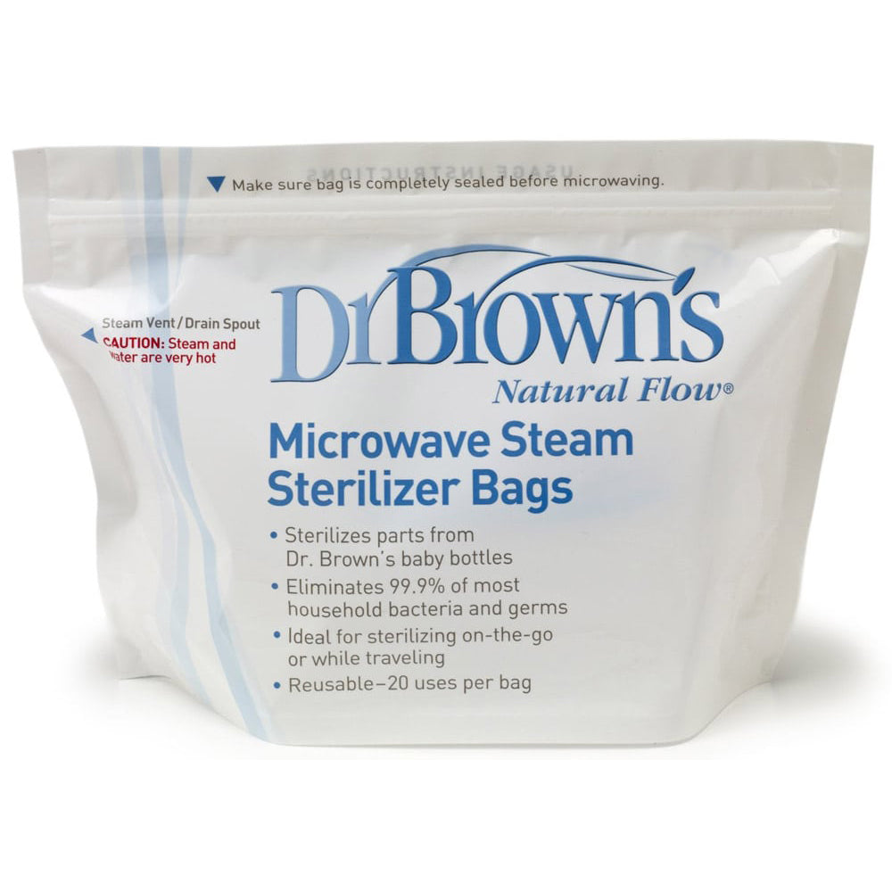 Dr Brown's Microwave Steam Sterilizer Bags