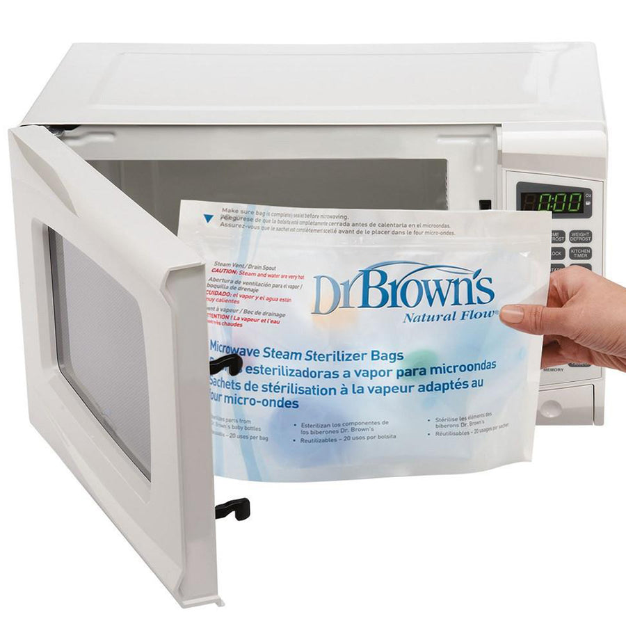 Dr Brown Microwave Steam Sterlizer Bags