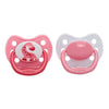 Dr Brown's Ortho CLASSIC SHIELD Pacifier Stage 2, 6-12 Months - Pink, Pack of 2