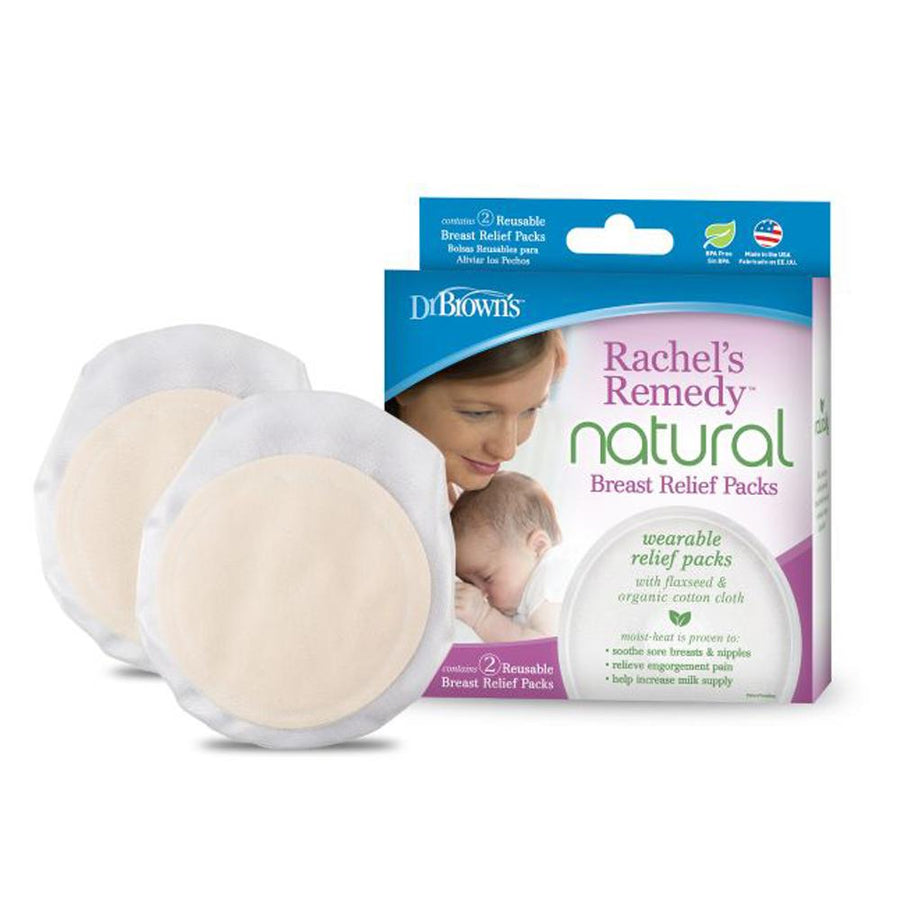 Dr Brown Rachel's Remedy Breast Relief Packs, Pack of 2