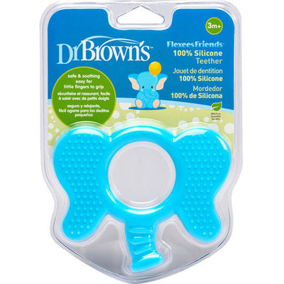 Dr Brown's Flexees Friends Elephant Teether