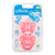 Dr Brown's One Piece Pacifier Stage 1 Pink , 0-6 Months, Pack of 2