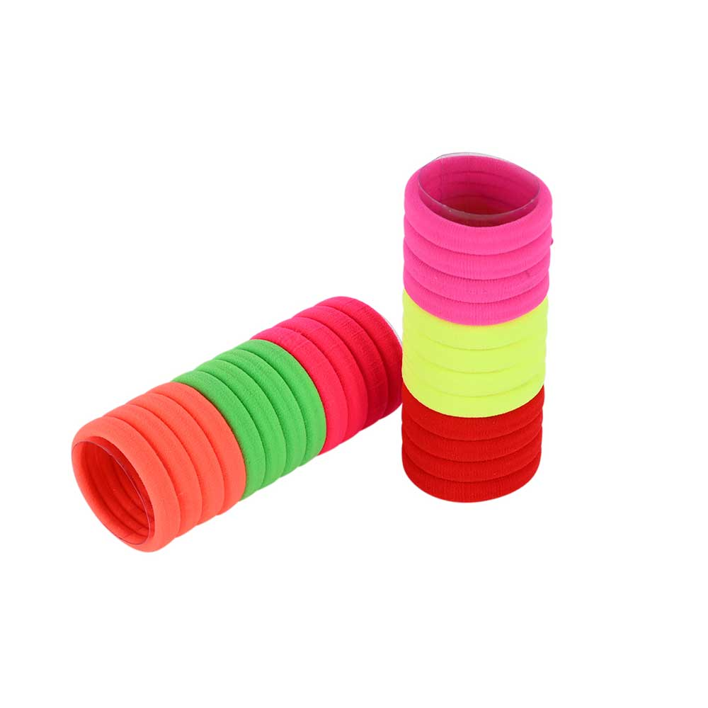 Elastic Hair Band - Assorted Neon Colors