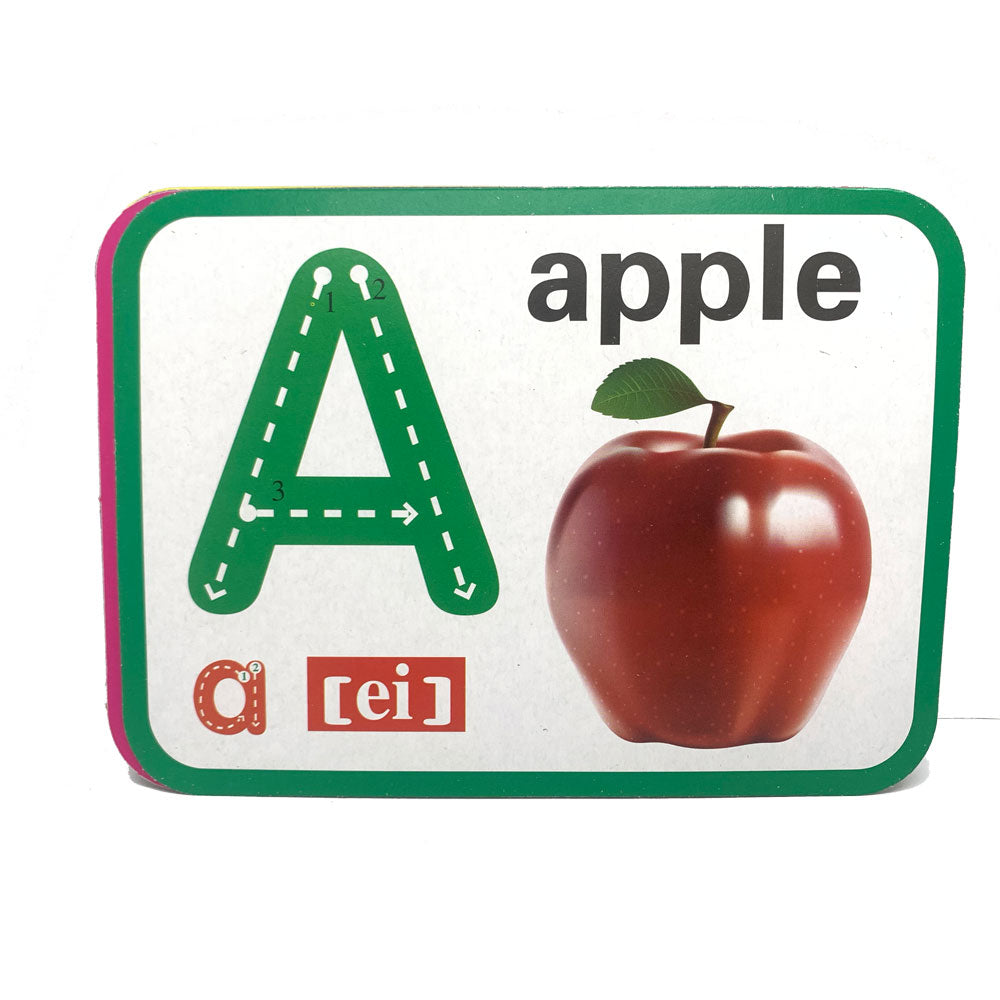 English Alphabet Flash Card, Learn to Write