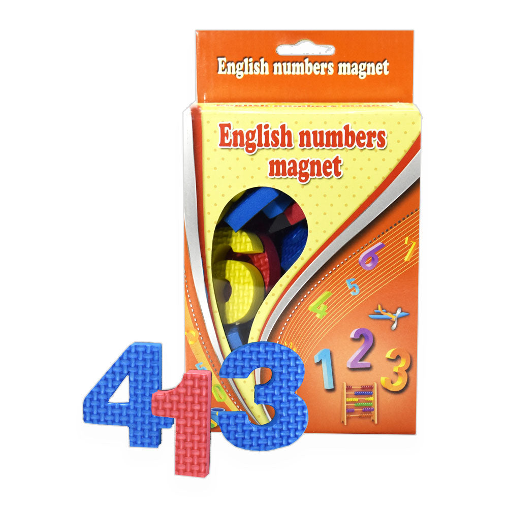 English Numbers Magnet
