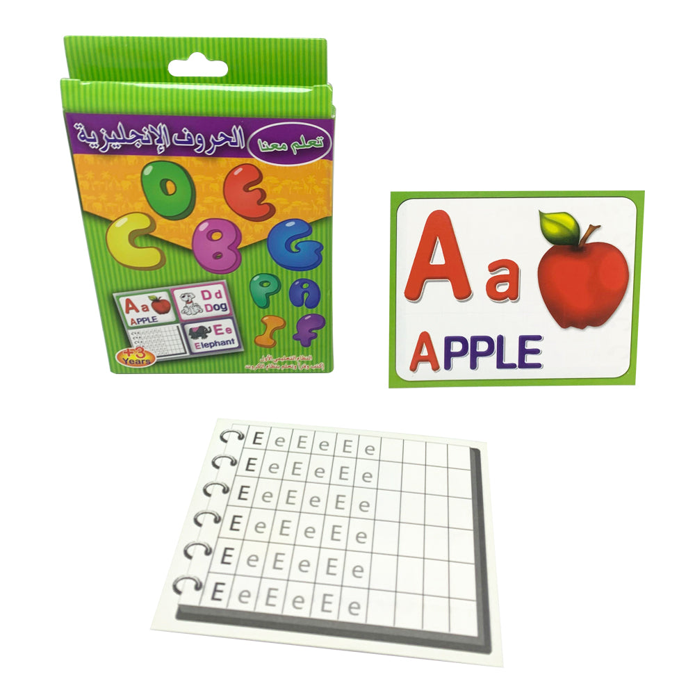 English Letters Flash cards