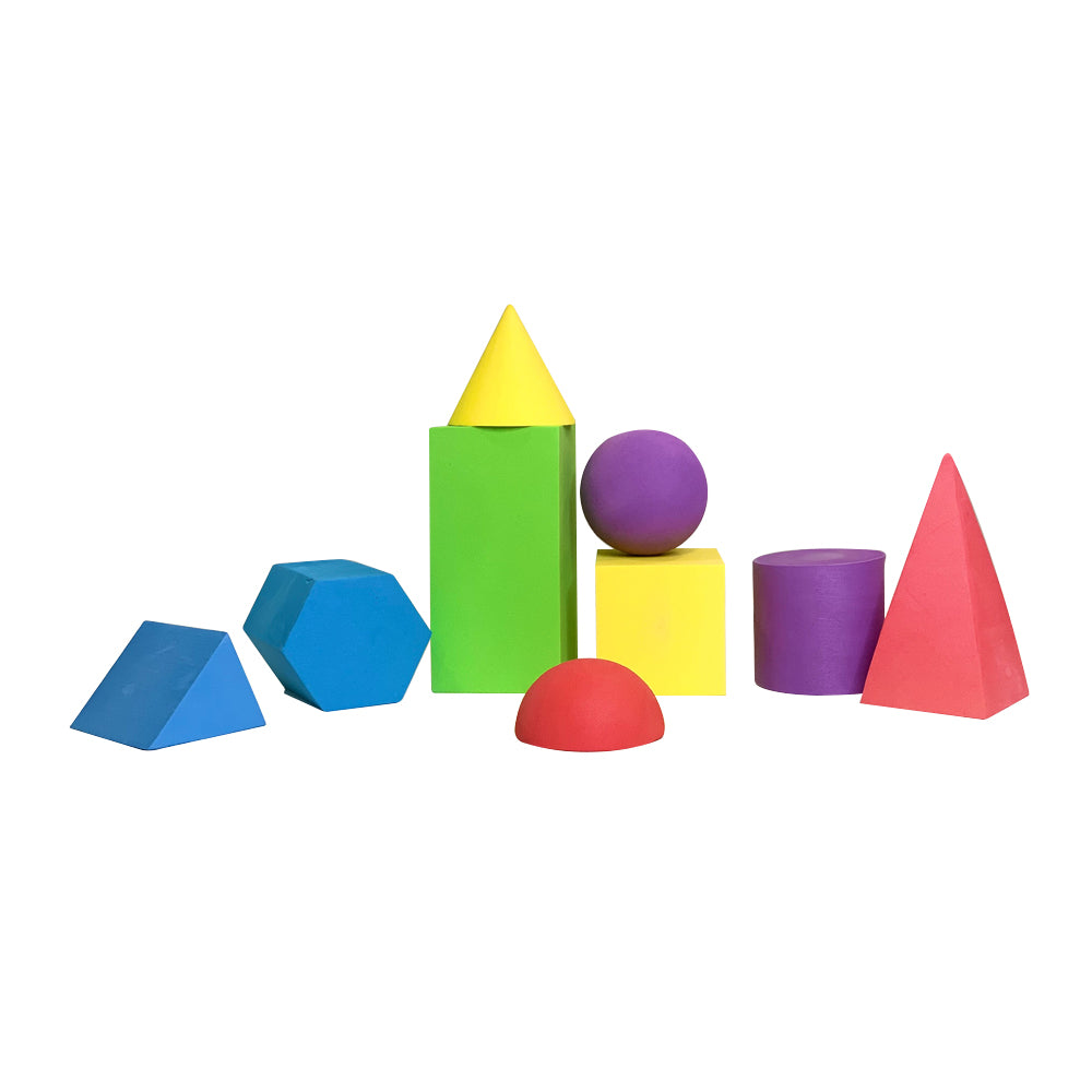 Eva Foam Geometric Solid Set, Large
