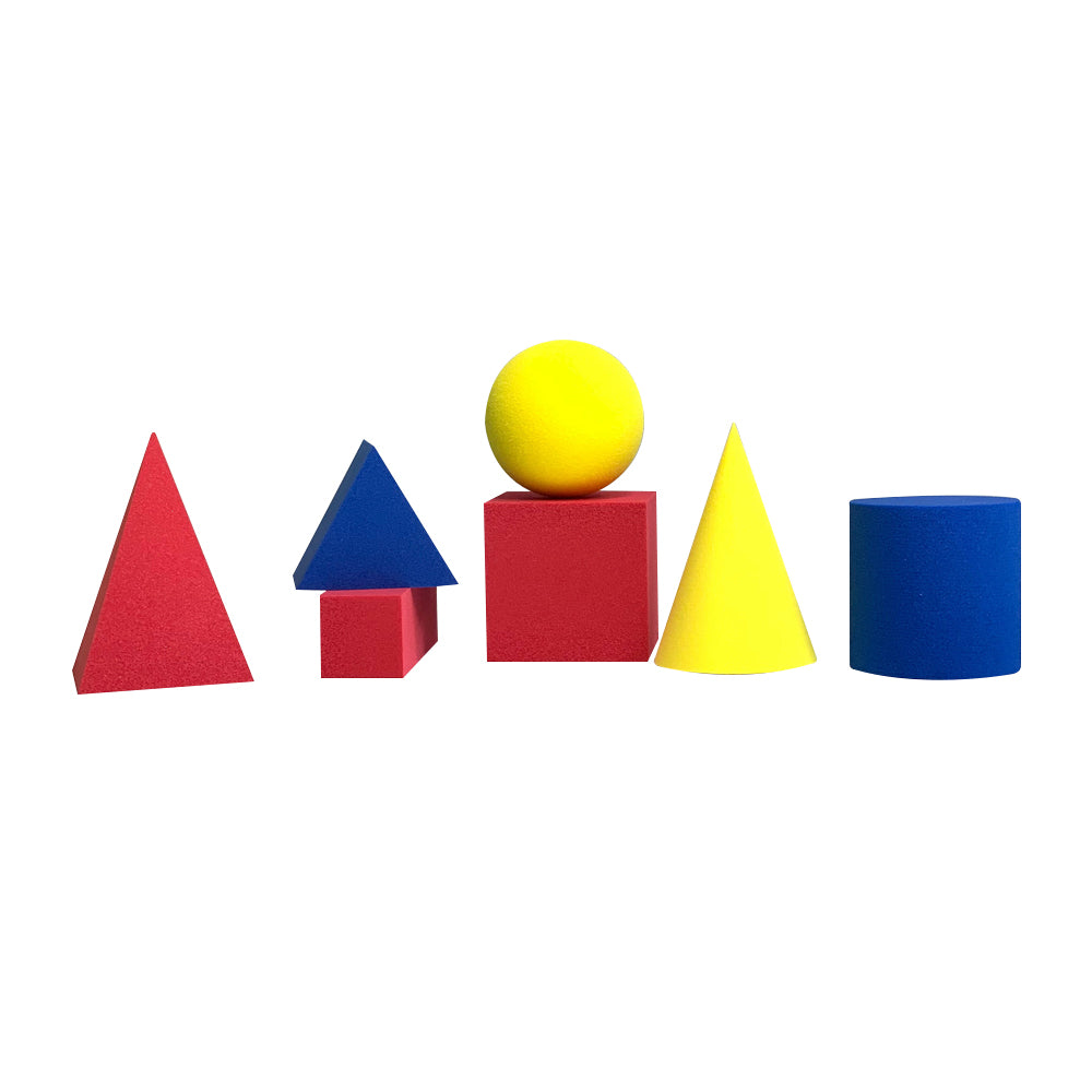 Eva Foam Geometric Solid Set, Small