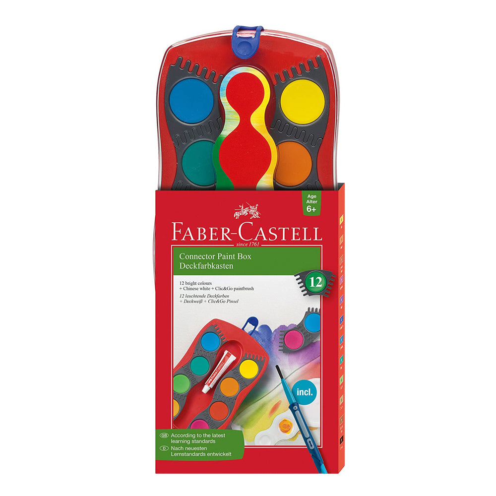Faber Castell Connector Paint Box- 12 Colors