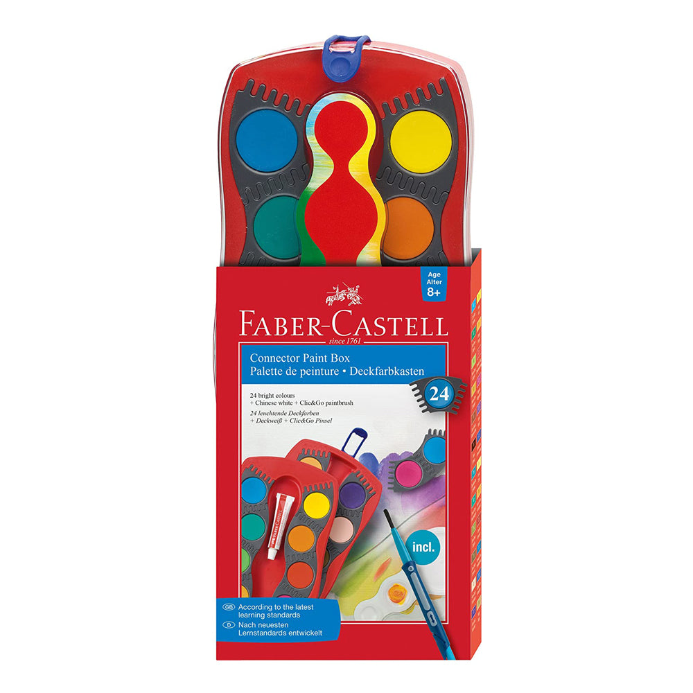 Faber Castell Connector Paint Box- 24 Colors