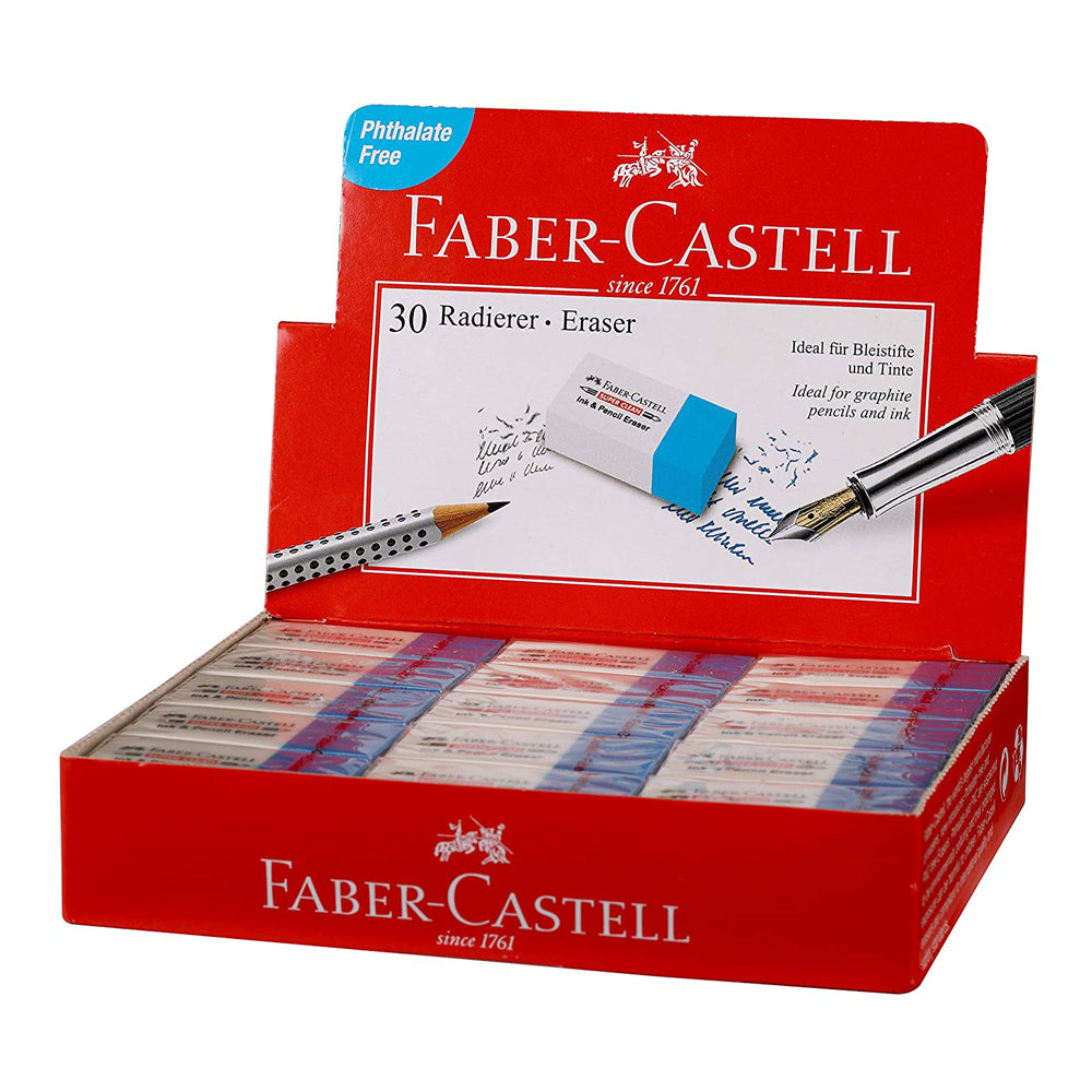 Faber Castell Ink Eraser - 30 pieces