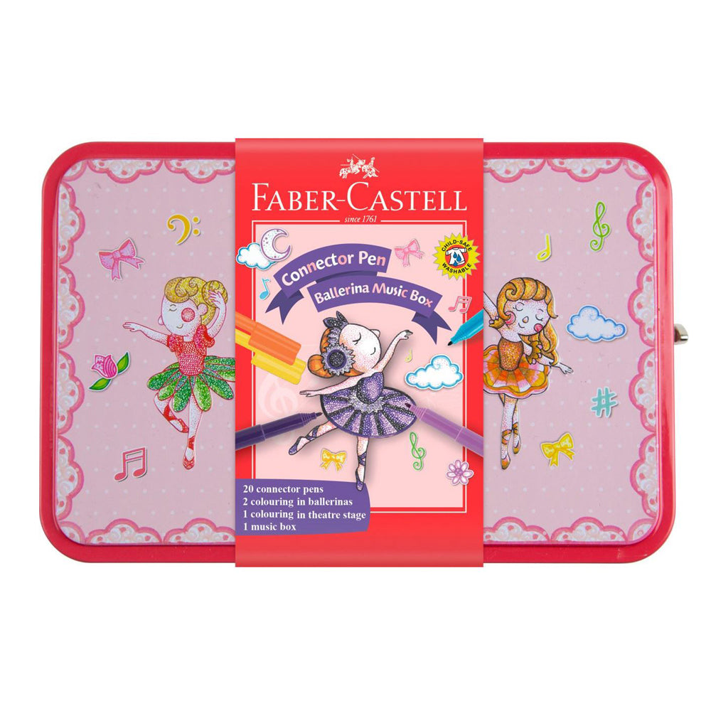 Faber Castell Connector Pen Ballerina Music Box