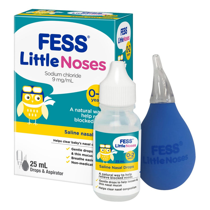 FESS Little Noses Drops + Aspirator 25 mL