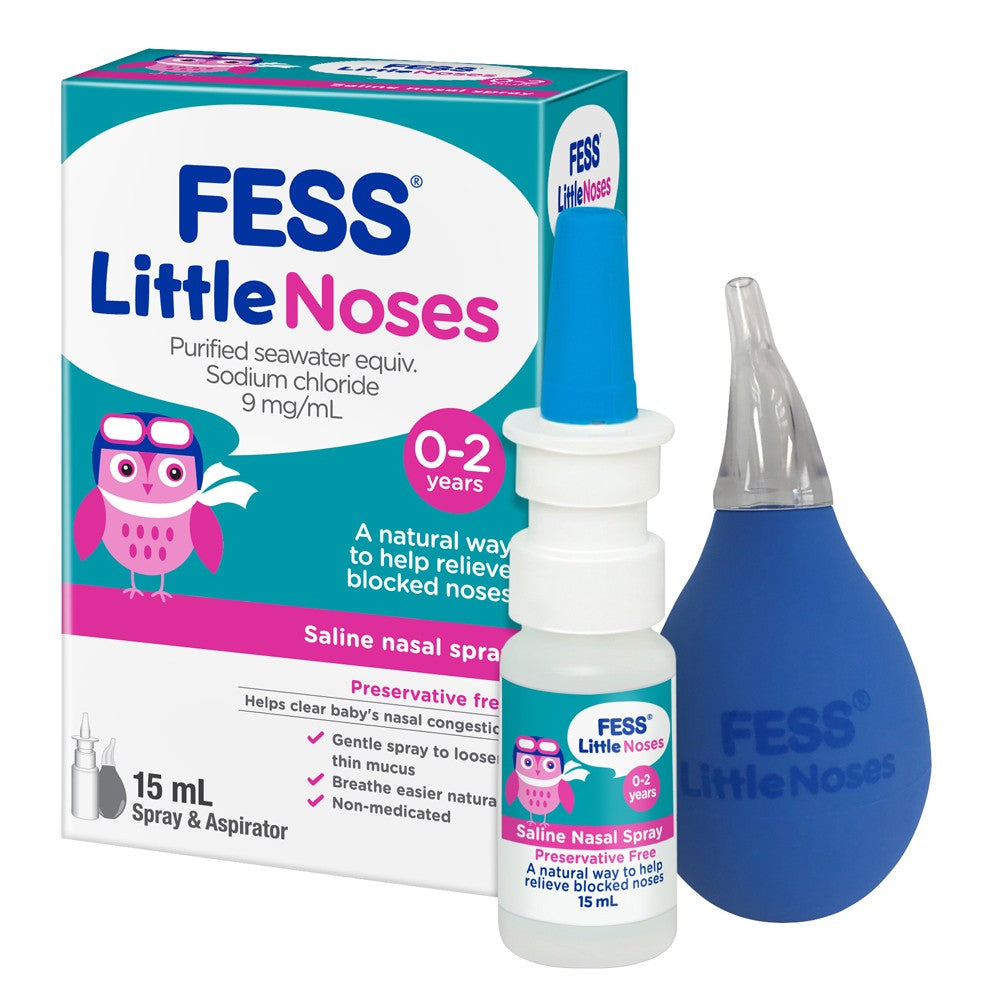 FESS Little Noses Spray + Aspirator 15 ml