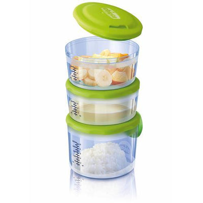 CHICCO FOOD CONTAINERS SYSTEM 6M+