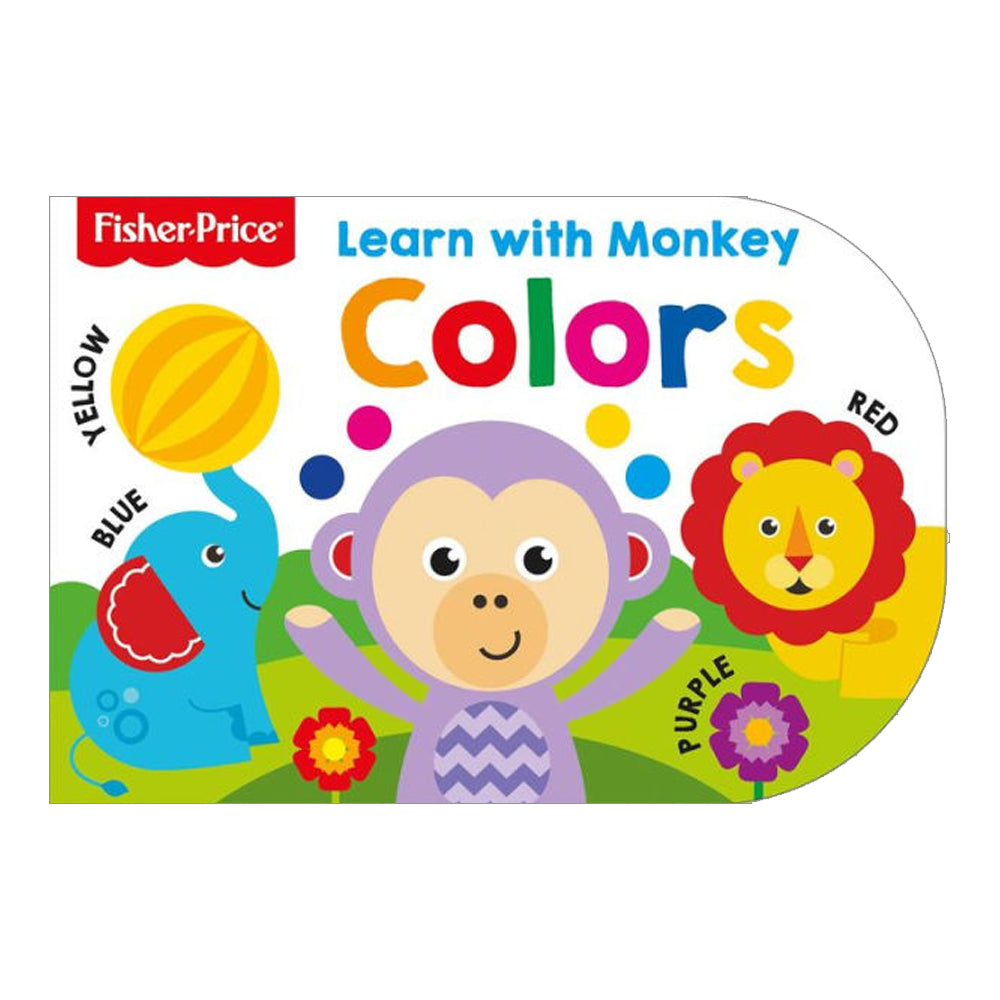 Fisher Price Learn With Monkey - Colours