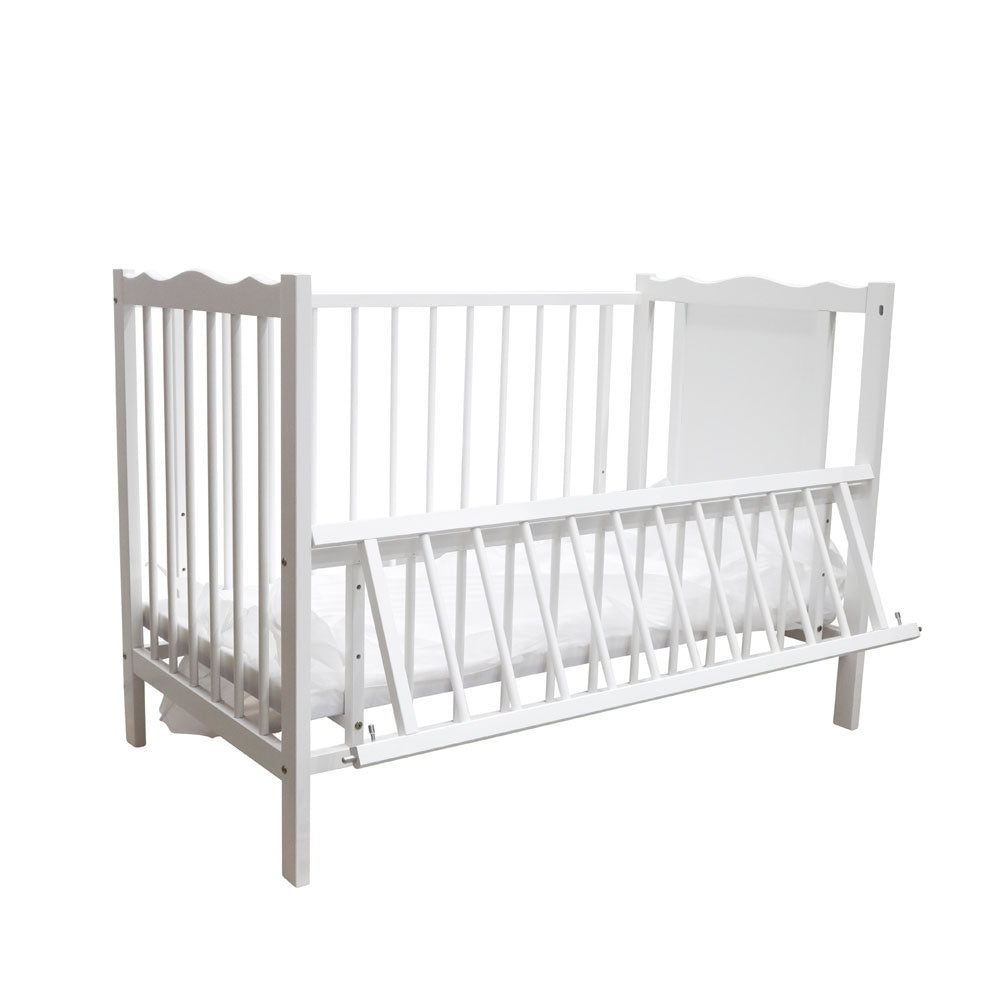 Funbies Baby Cot - White