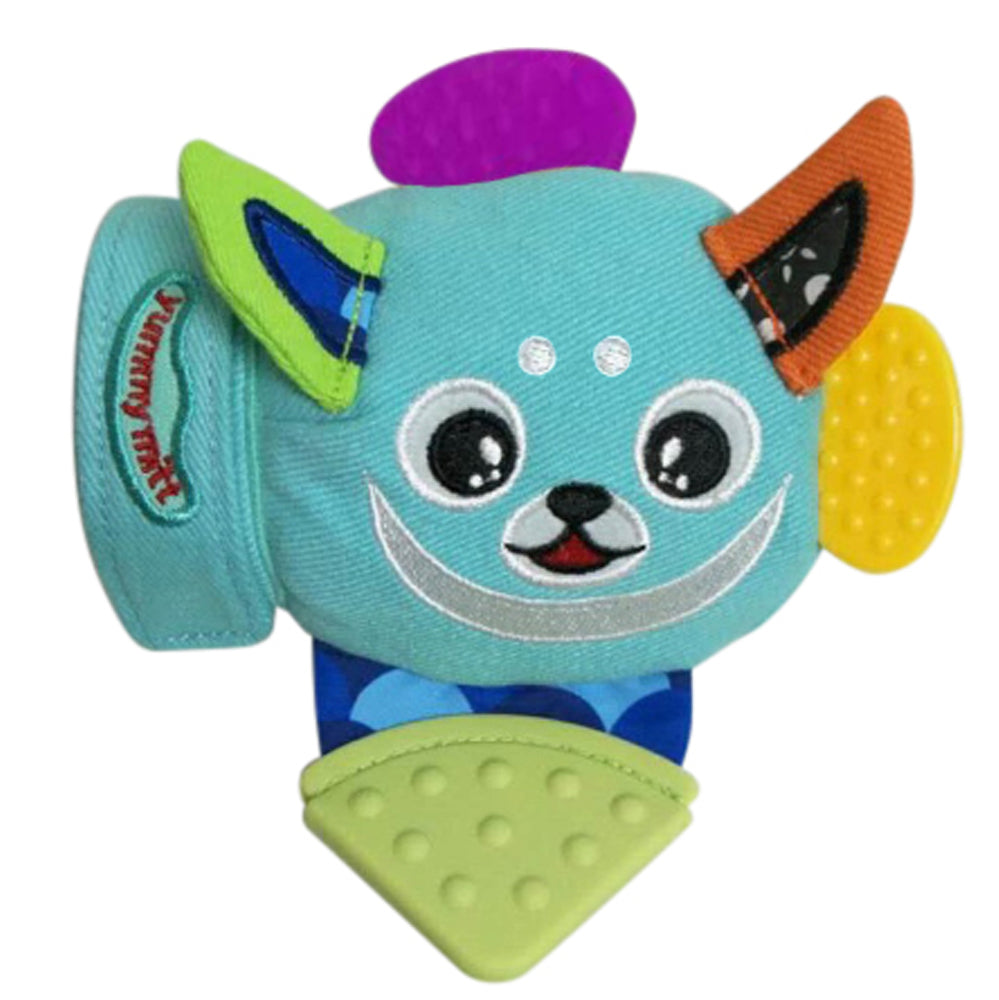 Yummy Mitt, Buddy Teething Mitten Blue