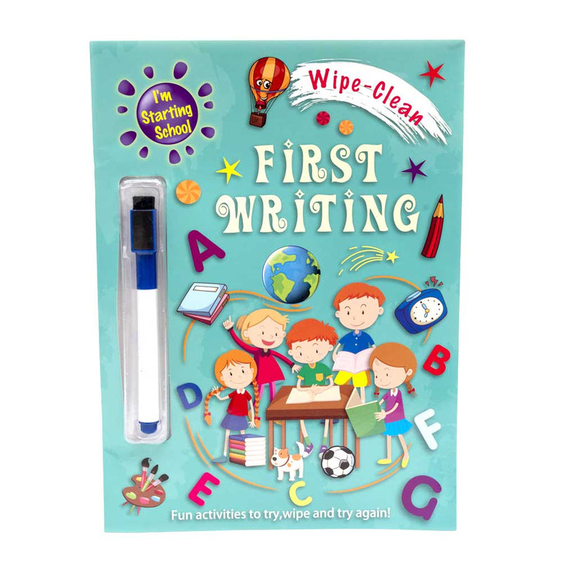 First Writing Wipe Clean Workbook