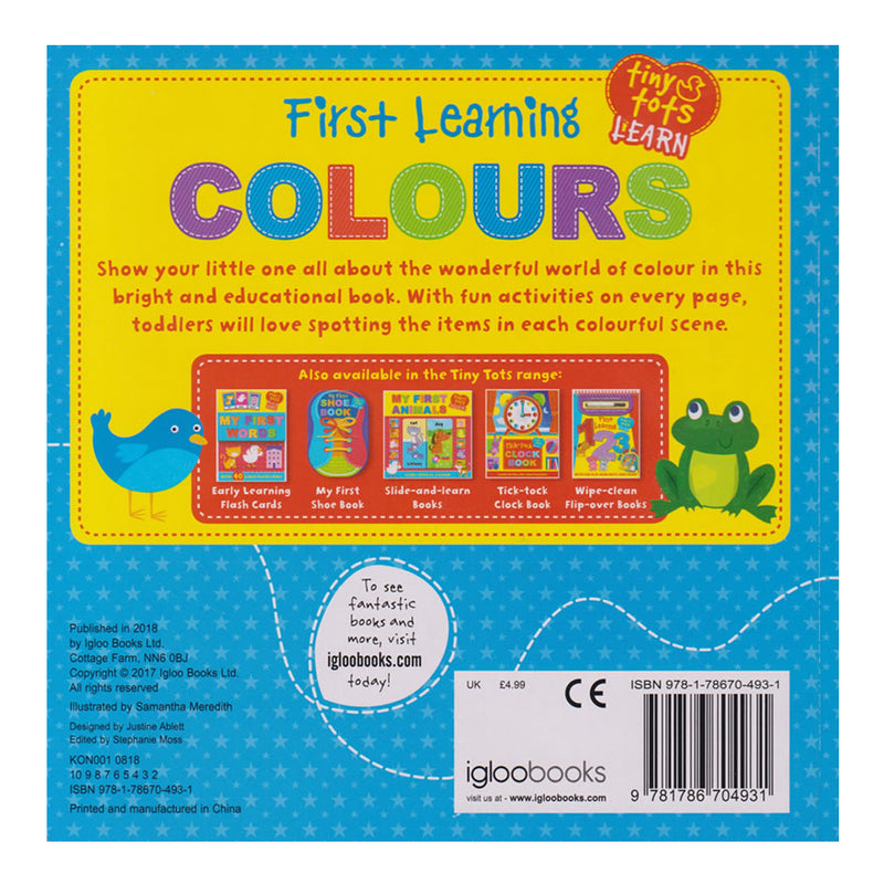 Colours Tiny Tots Touch and Feel