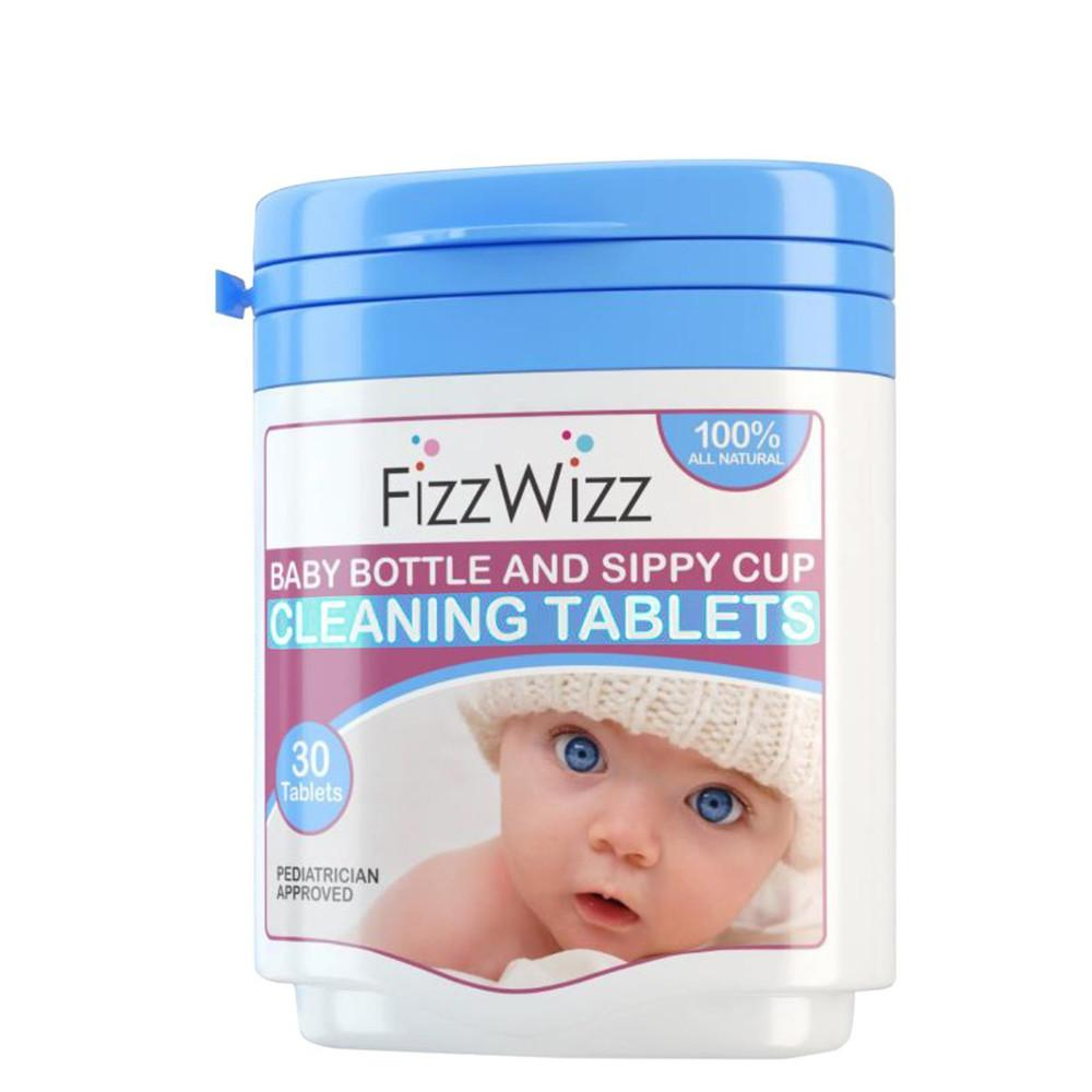 Fizzwizz Baby Bottle & Sippy Cup Cleaning Tablets 30 All Natural