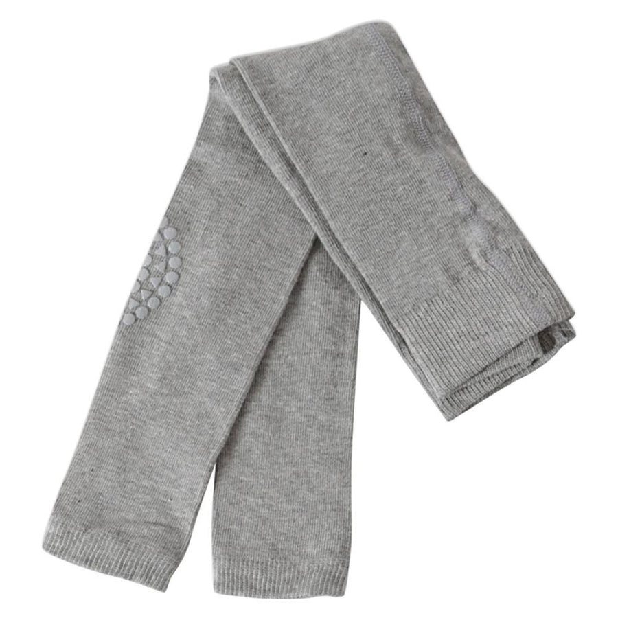 GoBabyGo Crawling Leggings, Grey Melange