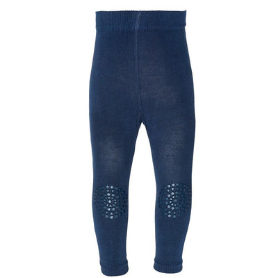GoBabyGo Crawling Leggings, Petroleum Blue