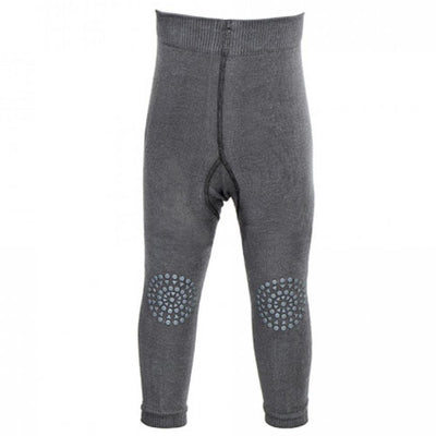 GoBabyGo Crawling Leggings, Dark Grey