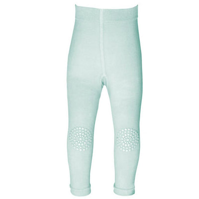 GoBabyGo Crawling Leggings, Mint Green