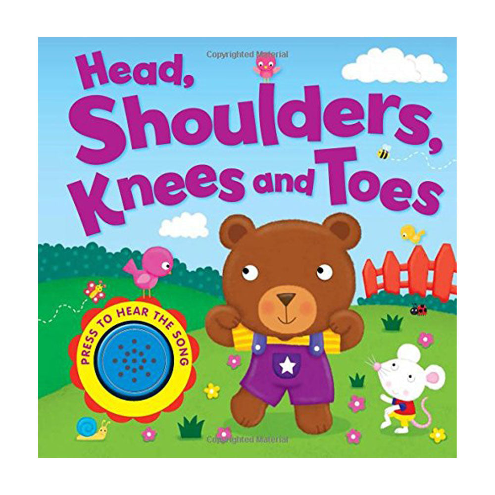 HEAD , SHOULDERS, KNEES and TOES (Song Sounds) Board book