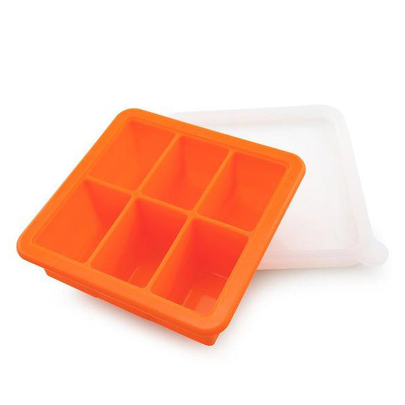 Haakaa Baby Food and Breast Milk Freezer Tray, 6 compartment
