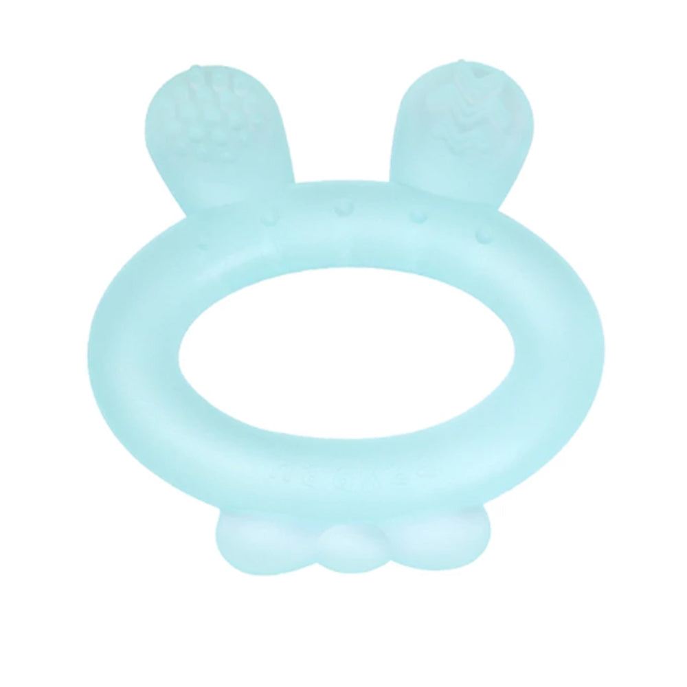 Haakaa Rabbit Ear Teether Blue, 1 Piece