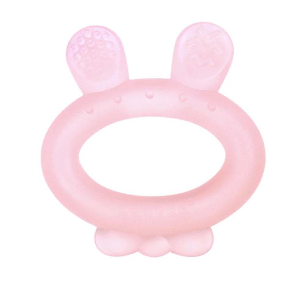 Haakaa Rabbit Ear Teether Pink, 1 Piece