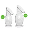 Haakaa Silicone Breast Pump 100Ml with Suction Base & Silicone Cap